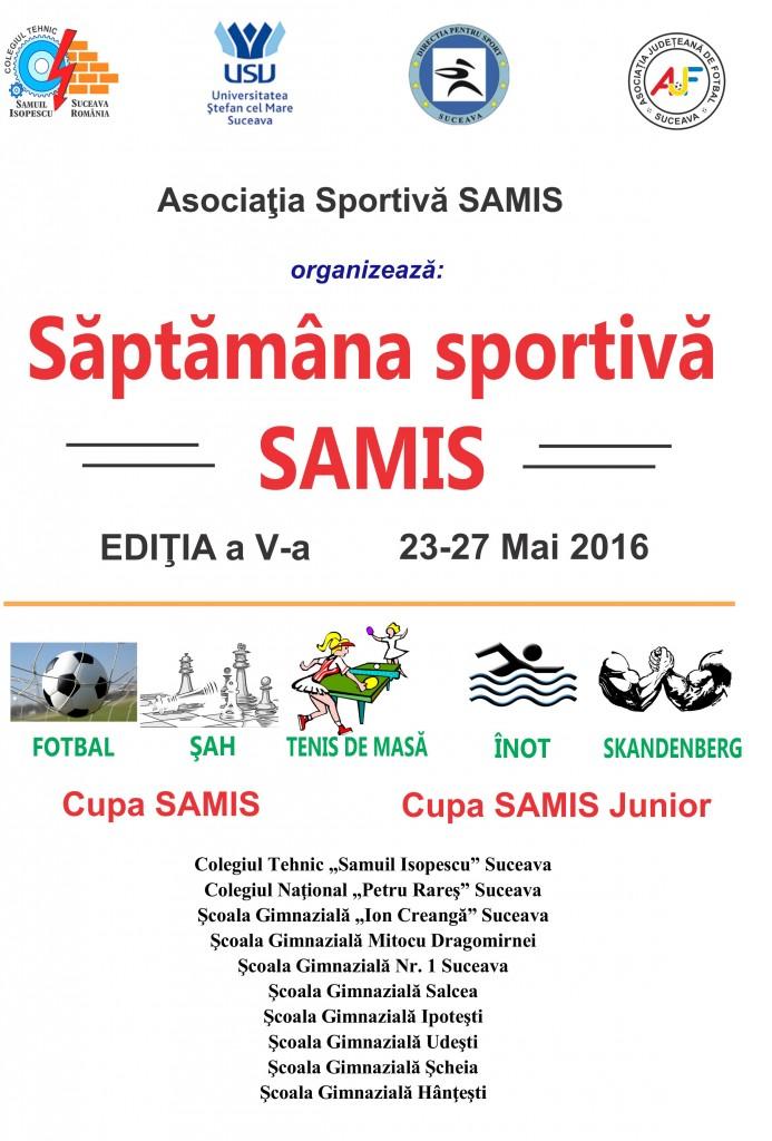 cupa samis junior 2016